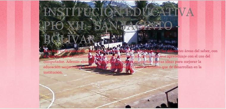 INSTITUCION EDUCATIVA PIO XII-SAN JACINTO-BOLIVAR