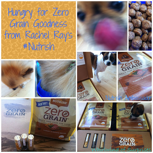 Review of Rachel Ray Nutrish Zero Grain Dog food