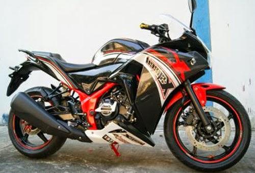 Full Modifikasi CBR150R, Pabrikan Honda