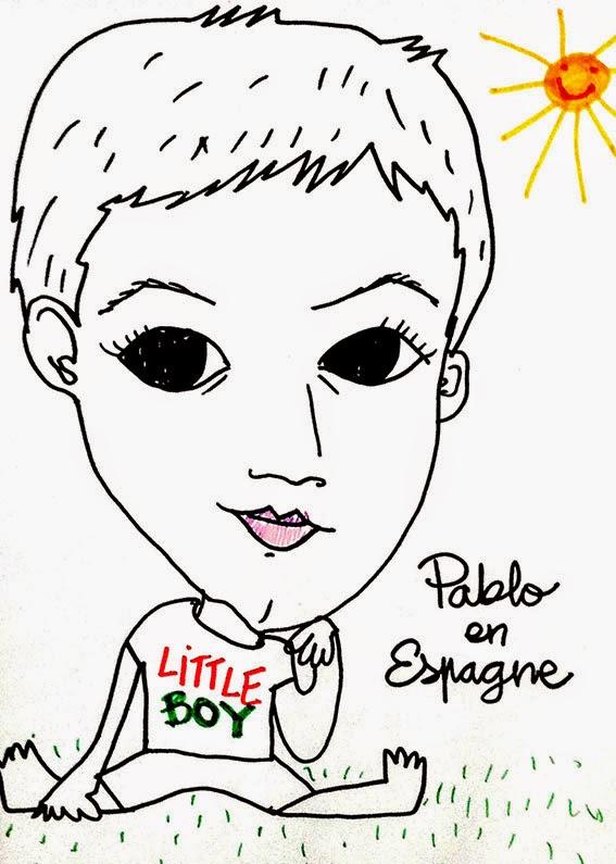 Pablo en Espagne