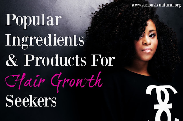 Popular Ingredients & Products For Hair Growth Seekers