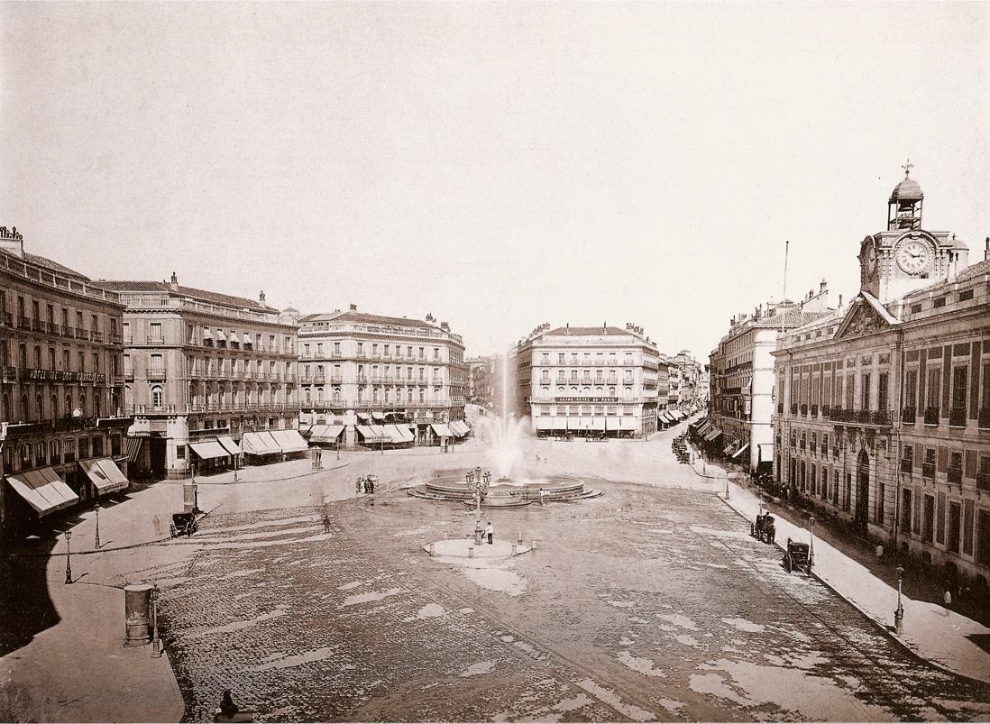 Flav infoarquitectura fotos antiguas de madrid i for Av puerta del sol
