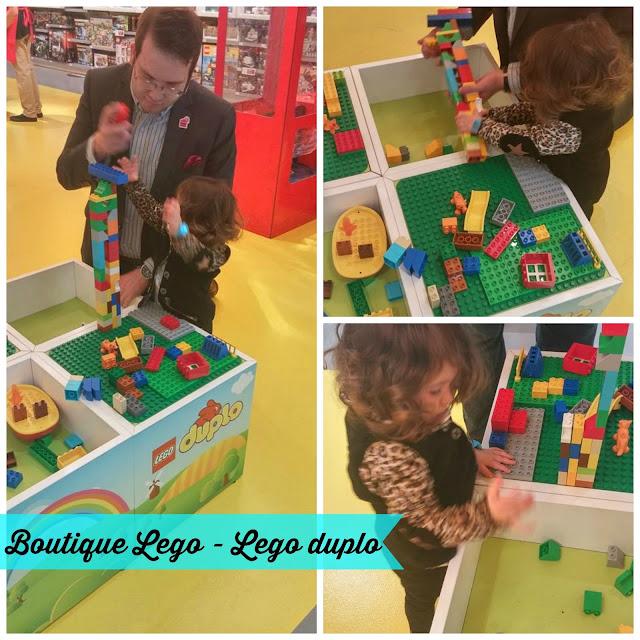 Boutique Lego - Comment nous avons initié Mini Radieuse au Lego!