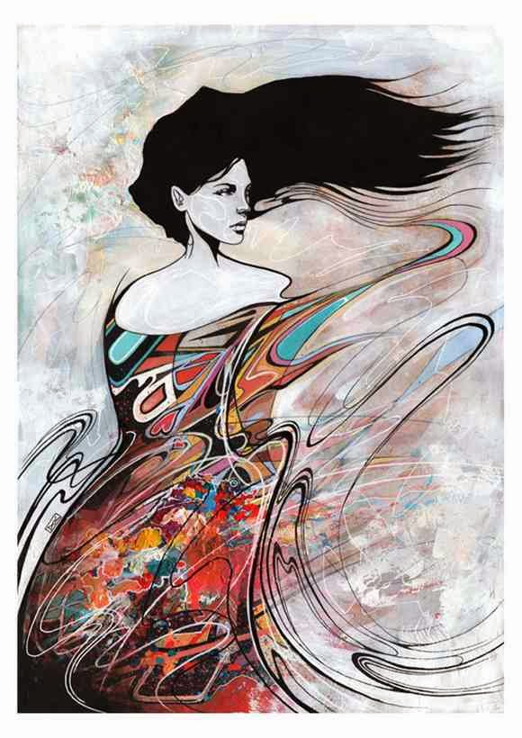 Gambar Lukisan Danny O Connor Artwork