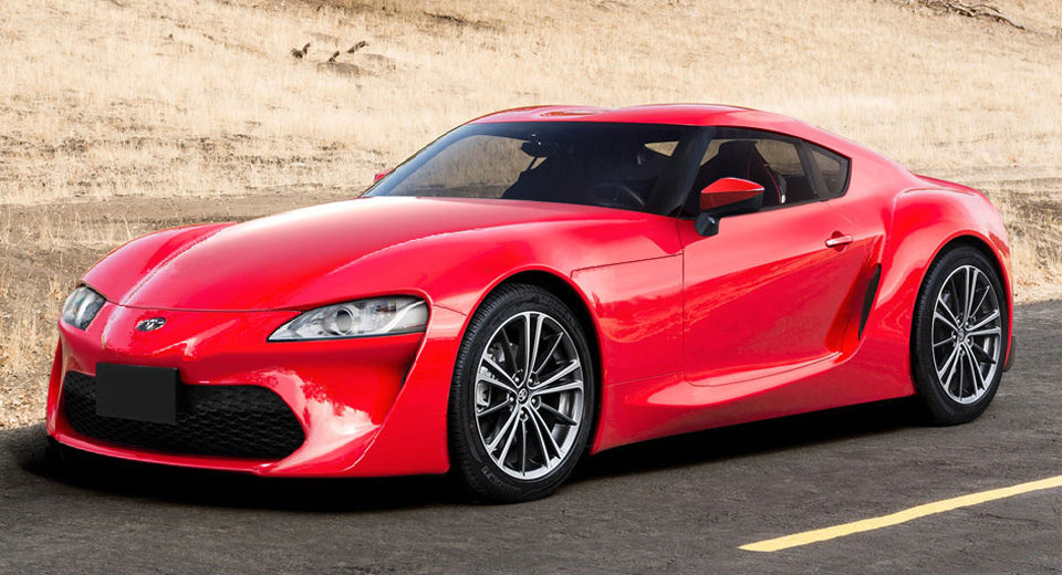 Toyota supra spy shots inspire production spec renderings
