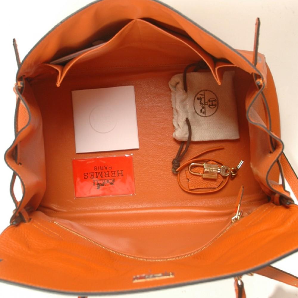 Сумки hermes birkin 35 оранжевая за 12200