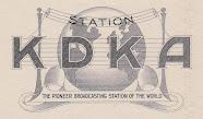 KDKA (8XK) 1st May 1925