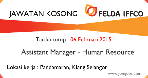 Jawatan Kosong FELDA IFFCO Selangor - Februari 2015