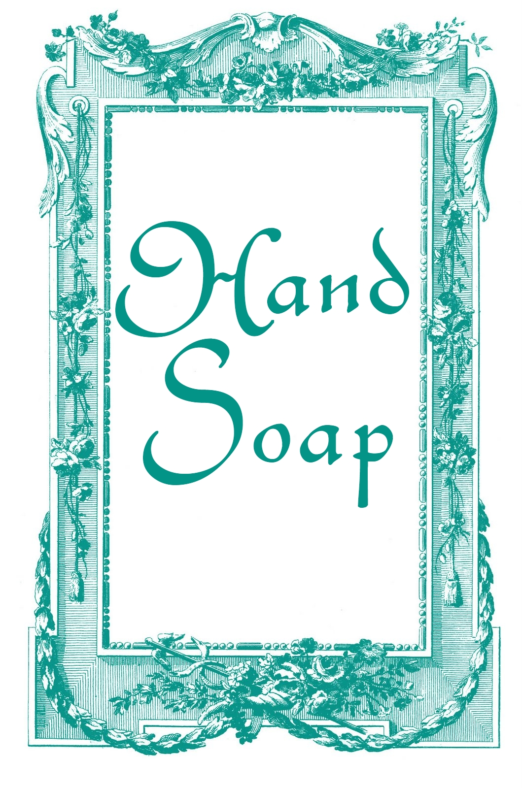 It is an image of Sassy Free Printable Soap Labels