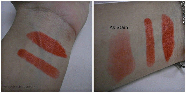 Street wear Color Rich Lip Color in California Orange Swatch