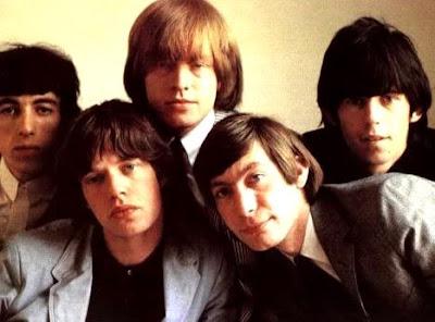 The Rolling Stones en sesión de foto