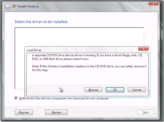 required CDDVD drive device driver is missing in Windows 7 | How to ...