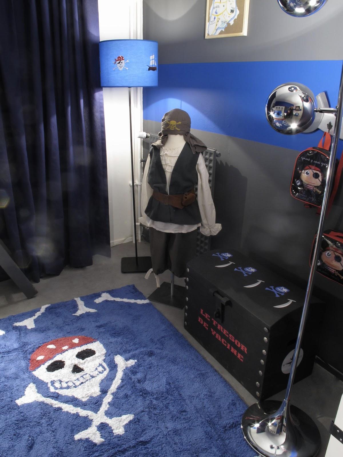 Le coin des créateurs Emission D&CO Chambre pirate