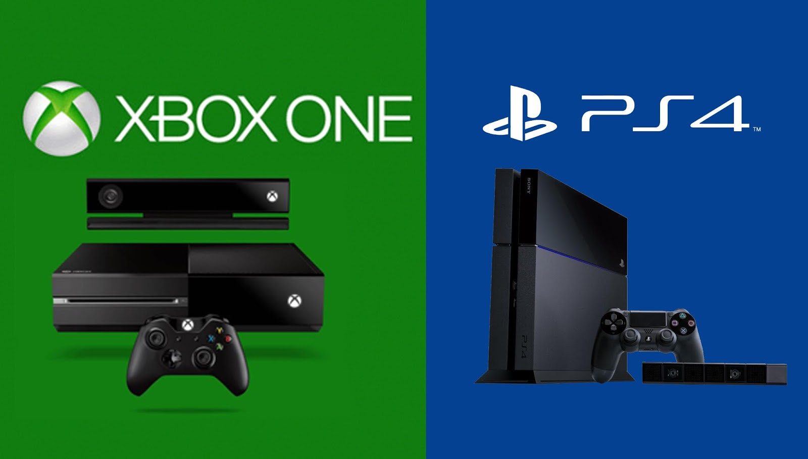 Xbox One Vs Ps4 : Ps vs xbox one