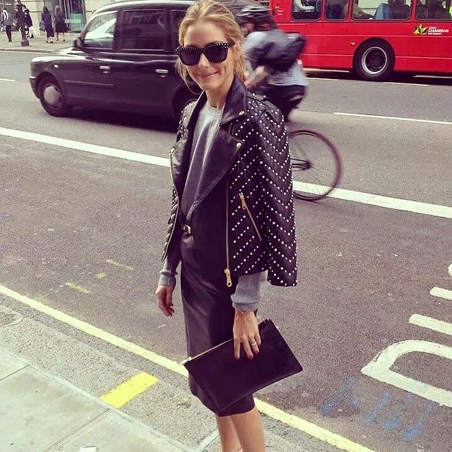 The Olivia Palermo Lookbook London Fashion Week Ss15 Olivia Palermo At Anya Hindmarch