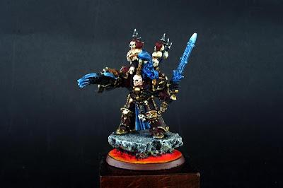 Warhammer 40000 Miniatura de Abaddon el saqueador