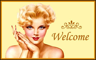banner retro welcome