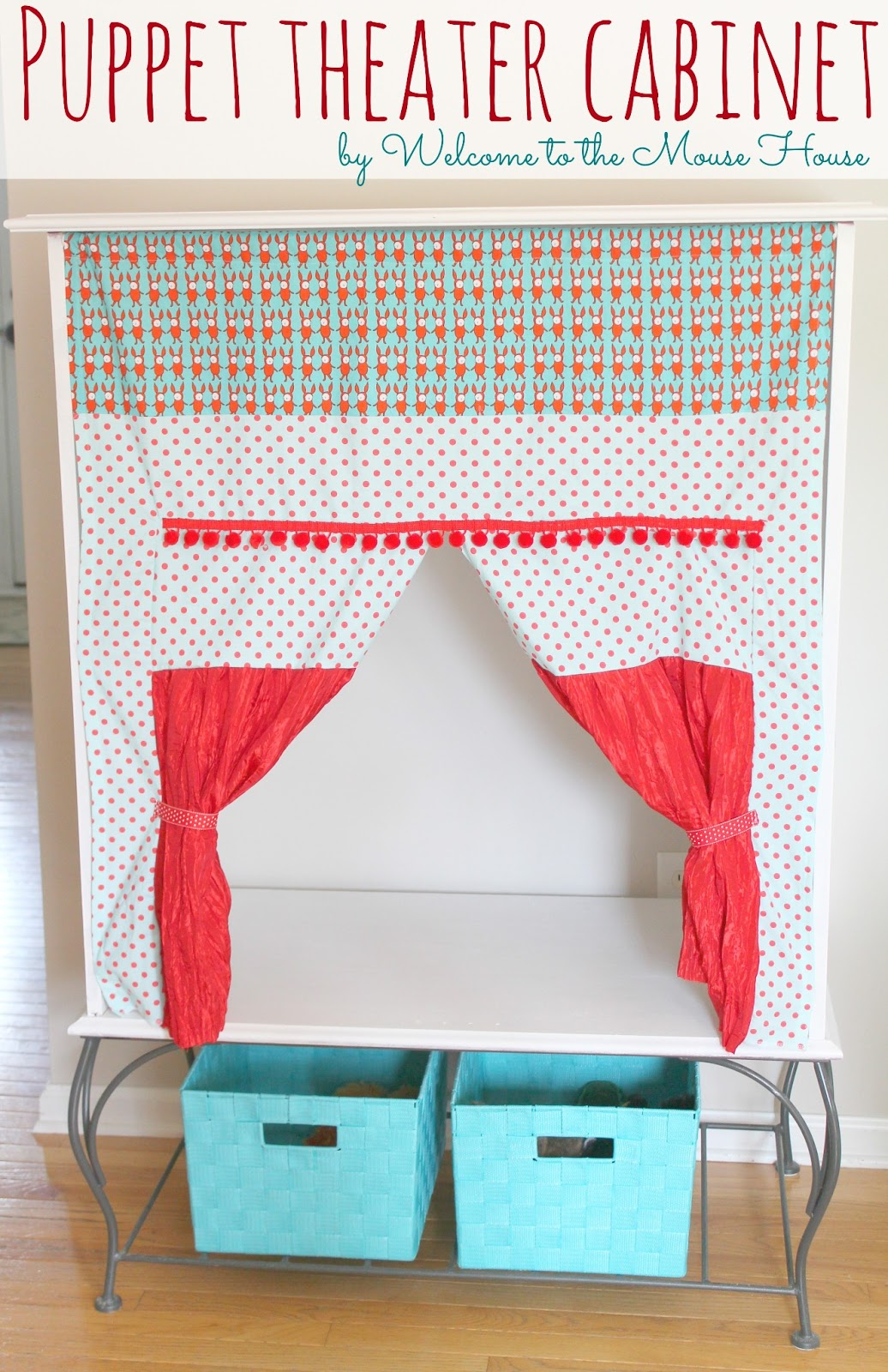 The Puppet Theater Cabinet Easy Diy