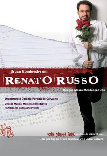 Teatro: Renato Russo - O Musical