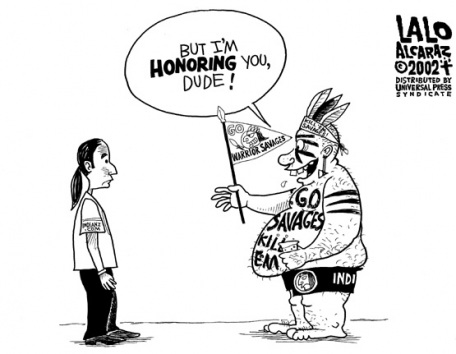 argumentation why native american mascots should not be used Another reason why the term redskins should not be offensive to native americans is the name was not chosen to purposely mock native americans in my opinion, the term is also not any more offensive to native americans than a trojan mascot is to greece or a tiger mascot to animals.