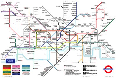 Map of London Underground, Tube Pictures
