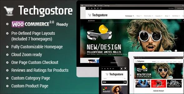 WooCommerce WordPress Theme – TechGoStore