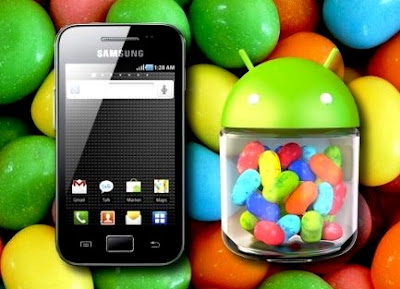 Samsung Galaxy Ace sukses upgrade ke jelly bean 4.1.2