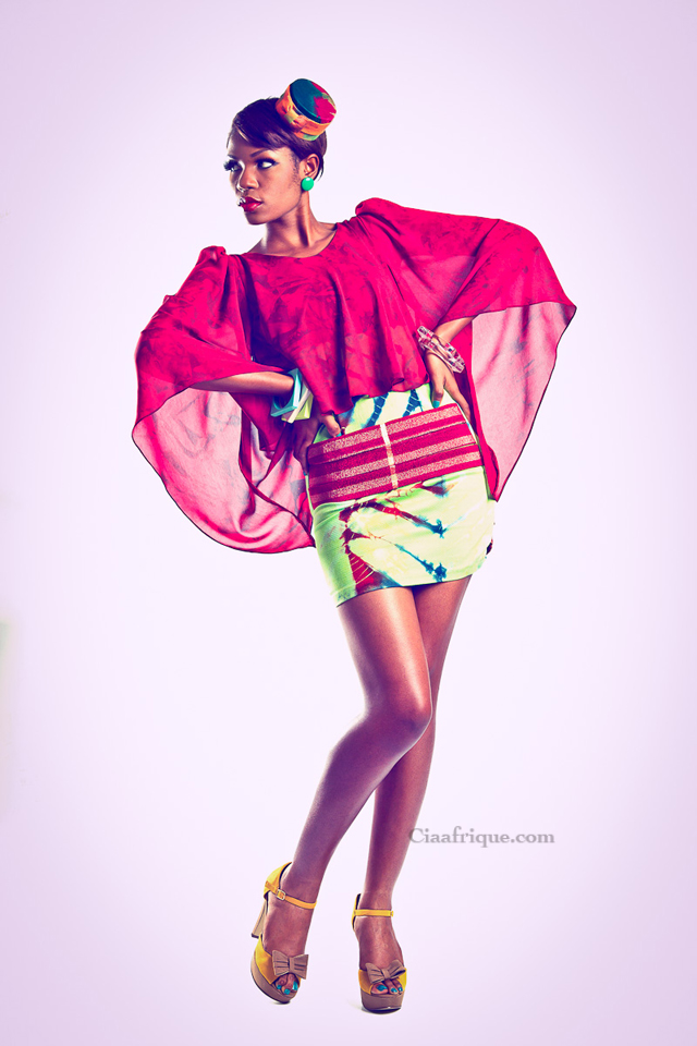 "VIV LA RESISTANCE  ""KALEIDOSCOPE ""A/W 2012 COLLECTION- Pagne africain"