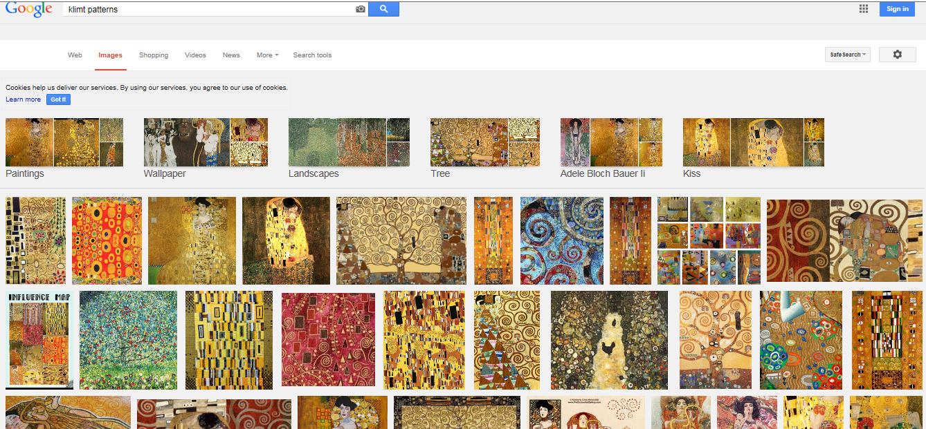gustav klimt and artists as visionaries