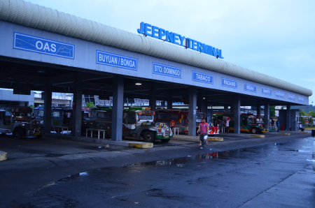 Legazpi Jeepney Terminal at LKY Metro Transport & Lifestyle Hub
