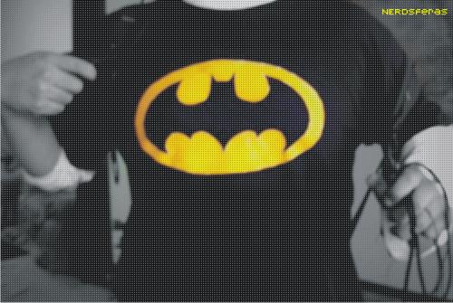 Dica de tutorial: Camiseta do Batman