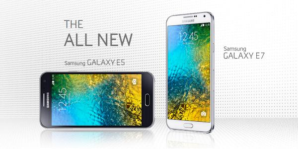 Samsung Galaxy E5 and Galaxy E7 announced