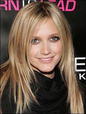 Corte de pelo redondo para mujer largo