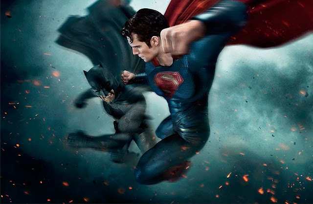 "Ilustración promocional ""Batman vs Superman: Dawn of Justice"""