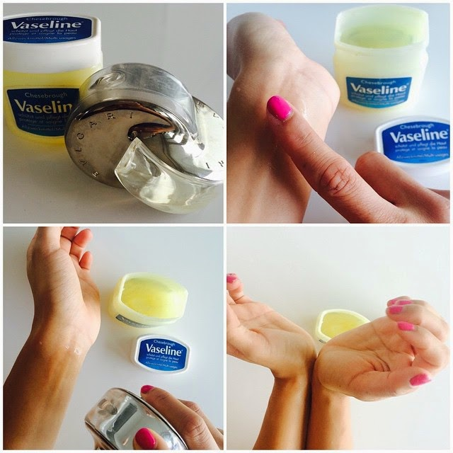 How to apply Vaseline to make perfume last longer