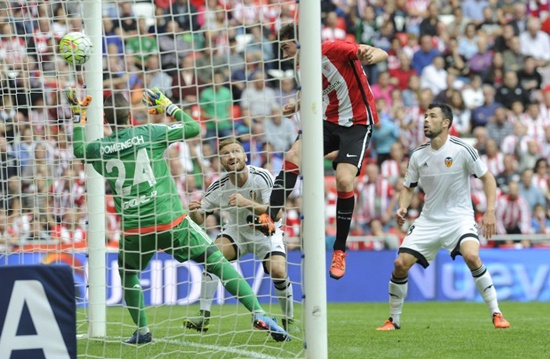 Athletic Bilbao 3 x 1 Valencia - La Liga 2015/16