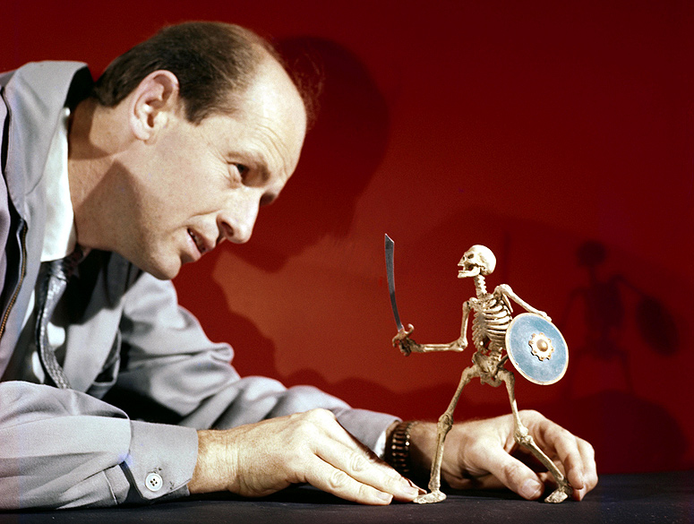 Harryhausen at work
