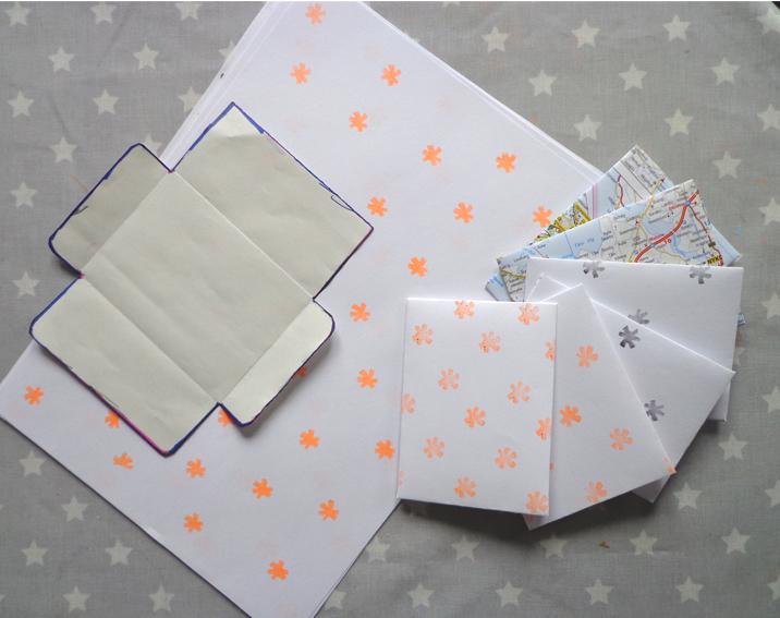 Briefumschläge Falten : Julies schöne neue welt heim papeterie