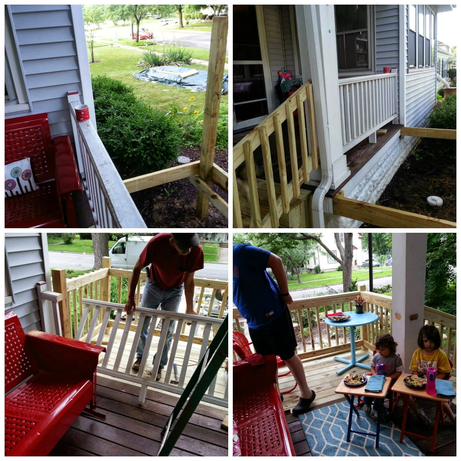 Small Front Porch Remodel: Live Your Love Out Loud: Small Front Porch And Stairs