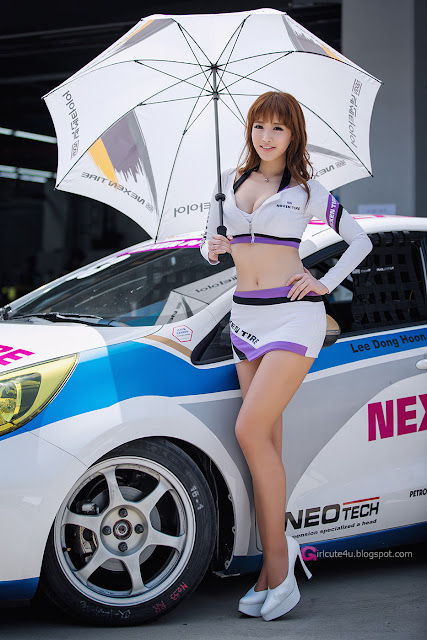 1 Lee Ye Bin - CJ SuperRace R1 2013 -Very cute asian girl - girlcute4u.blogspot.com