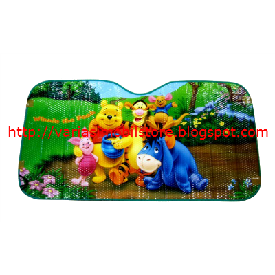 Penutup Kaca Keluarga Disney Winnie The Pooh And Friend