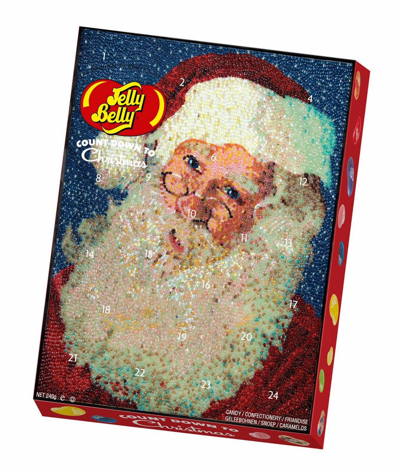 Jelly Belly jelly beans, Christmas advent calendar, Christmas 2014