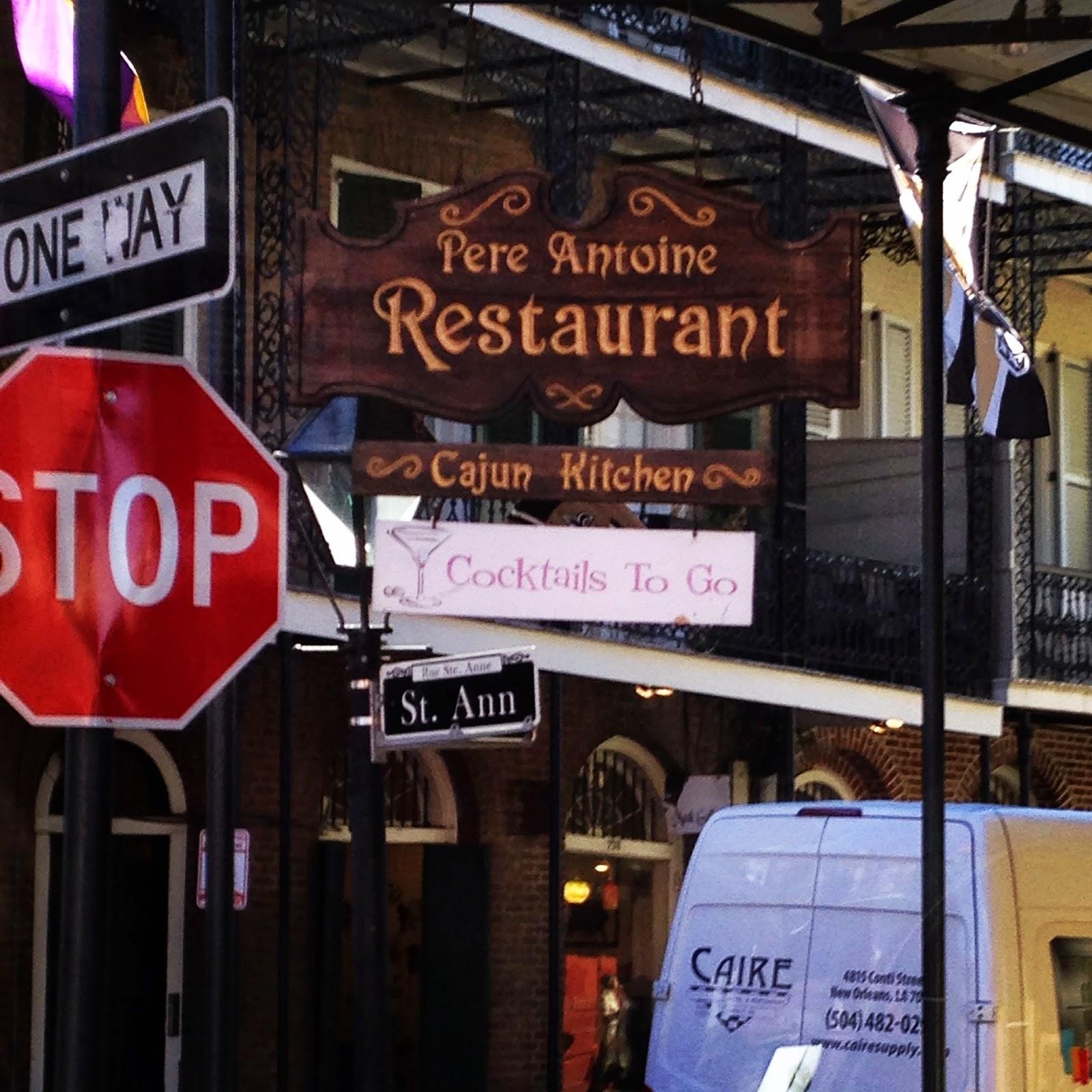 Pere Antoine Restaurant New Orleans
