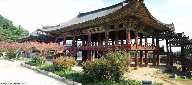 Pabellón tradicional coreano Yeongnamnu de Miryang