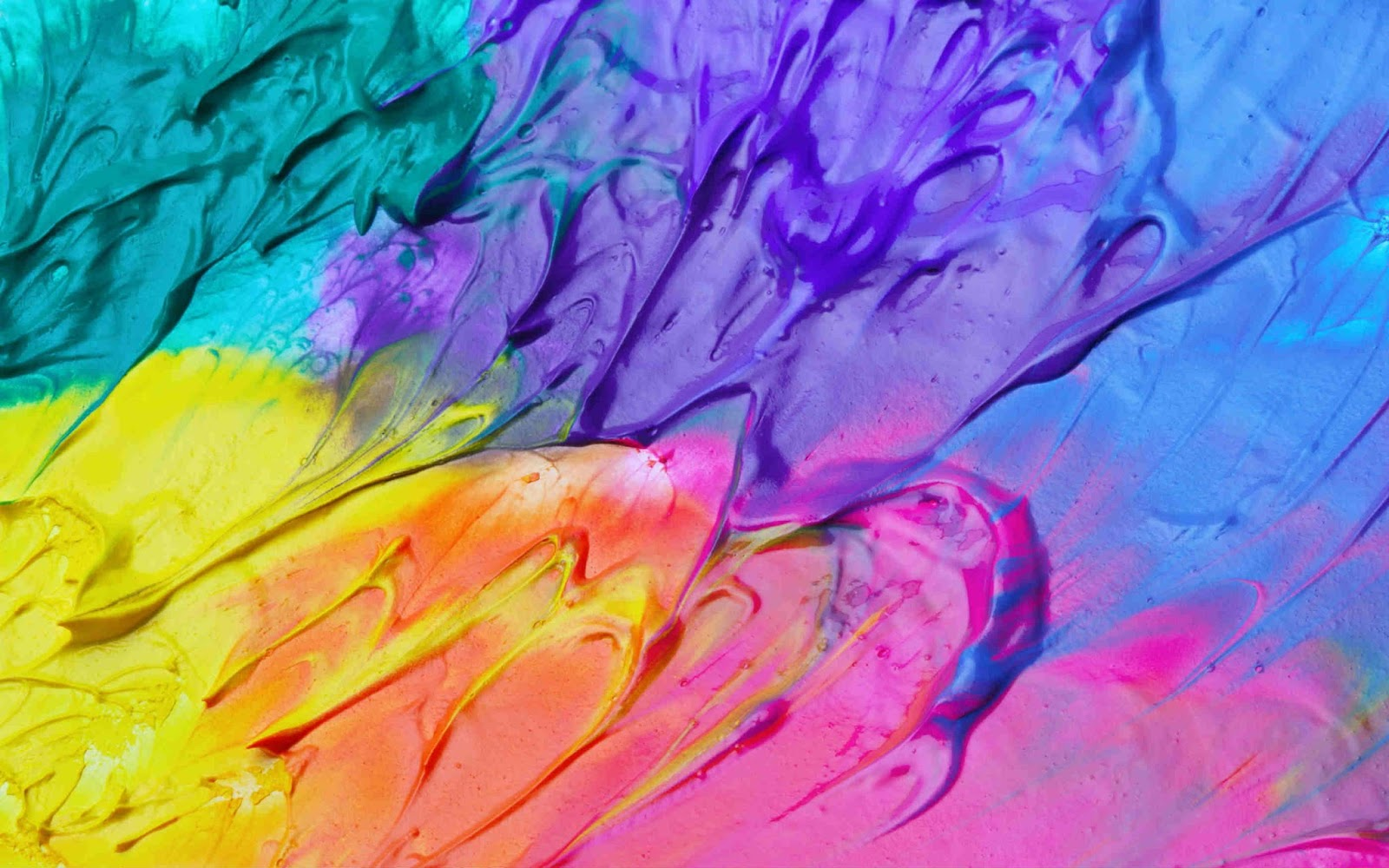 Mixed Oil Paint Wallpaper Hd O Wallpaper Picture Photo