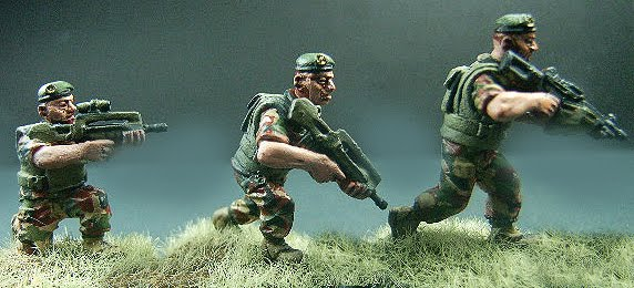 land of the lead 28mm modern foreign legion