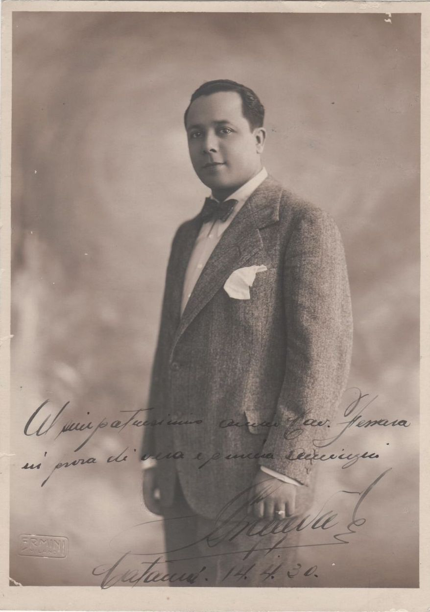 PERUVIAN TENOR ALESSANDRO GRANDA (1898-1962) CD