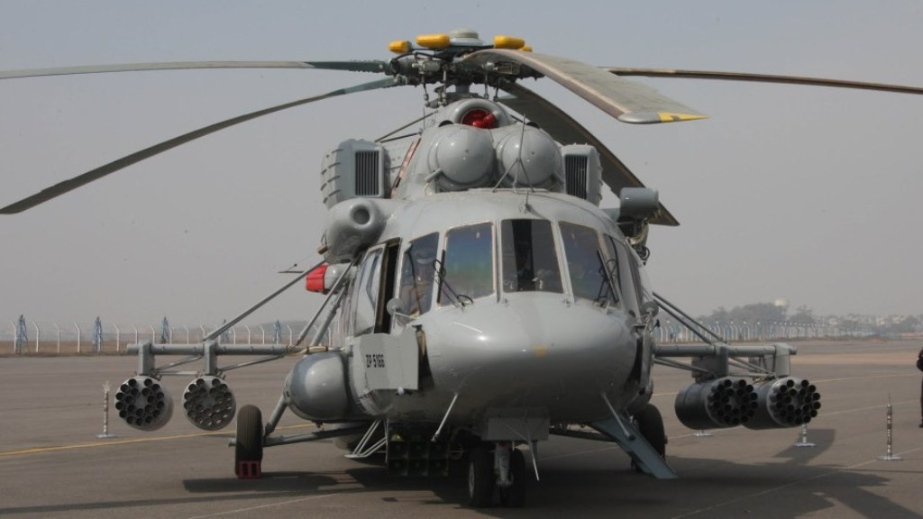 Indian Transport Mi-17V-5 Helicopters ~ ASIAN DEFENCE