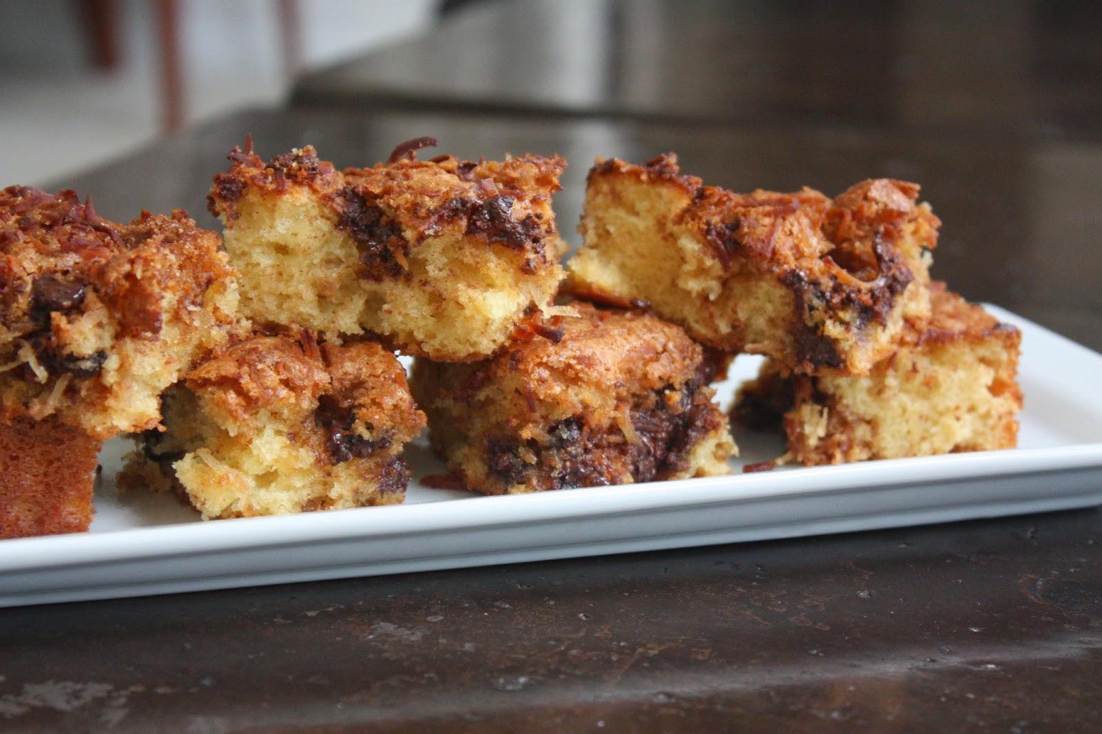 Week of Menus: Coconut Chocolate Chip Coffee Cake (5C's cake): Spring ...