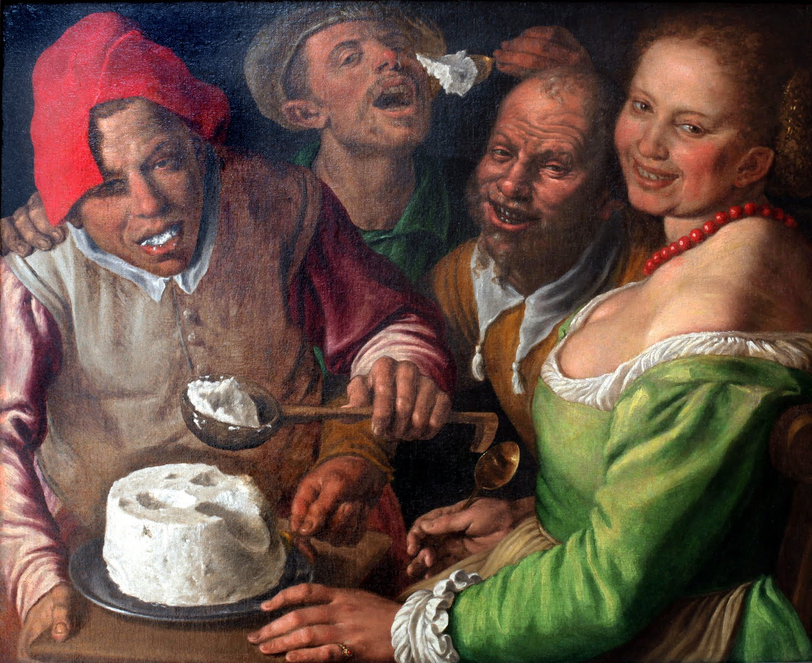 Vincenzo Campi - I mangiatori di ricotta